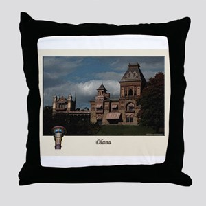 Olana Frederick Church Throw Pillow
