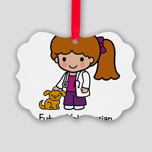 Future Veterinarian Girl Picture Ornament
