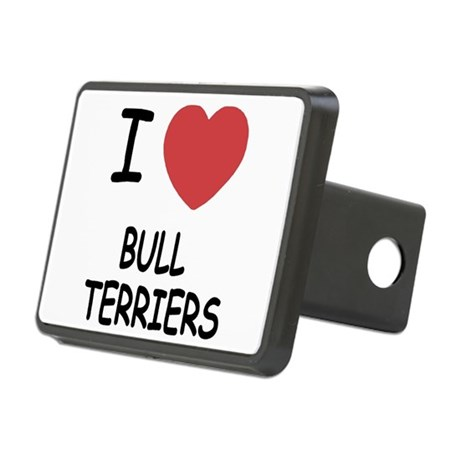 BULLTERRIERS Rectangular Hitch Cover