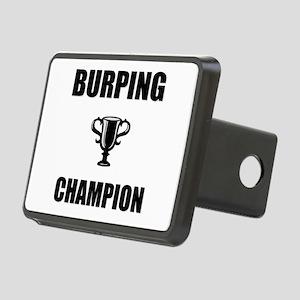 burping champ Rectangular Hitch Cover