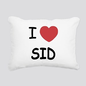 SID Rectangular Canvas Pillow