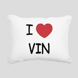 VIN Rectangular Canvas Pillow
