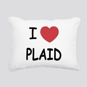 PLAID Rectangular Canvas Pillow