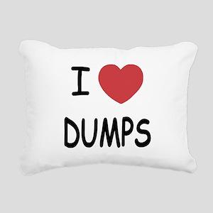 DUMPS Rectangular Canvas Pillow