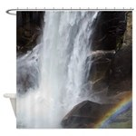 Vernal Falls and Rainbow Shower Curtain
