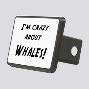 Im crazy about WHALES Rectangular Hitch Cover