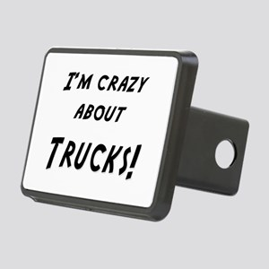 Im crazy about TRUCKS Rectangular Hitch Cover