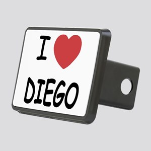 I heart DIEGO Rectangular Hitch Cover