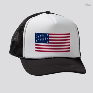 USA - 33 Stars - Ft Sumter Kids Trucker hat