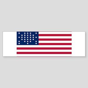 USA - 33 Stars - Ft Sumter Sticker (Bumper)