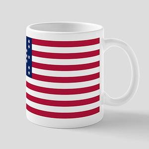 USA - 33 Stars - Ft Sumter 11 oz Ceramic Mug