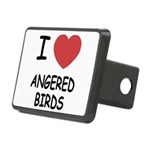 ANGERED_BIRDS Rectangular Hitch Cover
