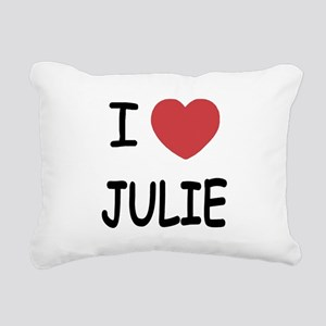 JULIE Rectangular Canvas Pillow