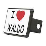 WALDO Rectangular Hitch Cover