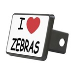 ZEBRAS Rectangular Hitch Cover