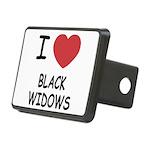 BLACKWIDOWS Rectangular Hitch Cover