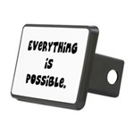 everythingispossible Rectangular Hitch Cover
