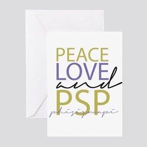 Peace, Love, and PSP Greeting Cards (Pk of 10)