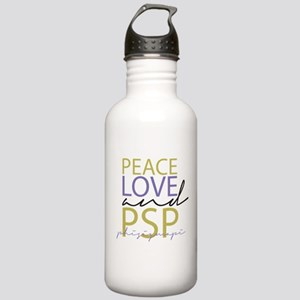 Peace, Love, and PSP Stainless Water Bottle 1.0L