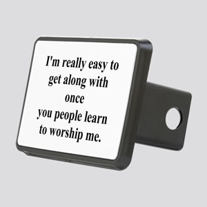 worshipme Rectangular Hitch Cover