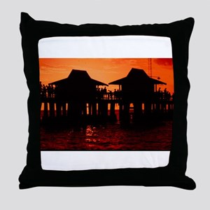 Naples Florida Throw Pillow