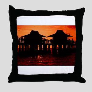 Naples Florida Throw Pillow