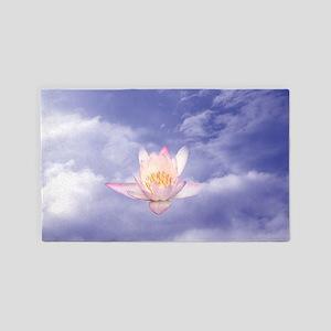 Zen Lily ~ 3'x5' Area Rug