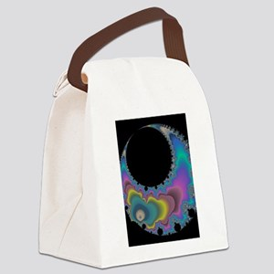 Luna di Amore Fractal Canvas Lunch Bag