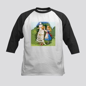 Alice and The White Queen Kids Baseball Jersey