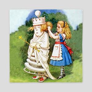 Alice and The White Queen Queen Duvet