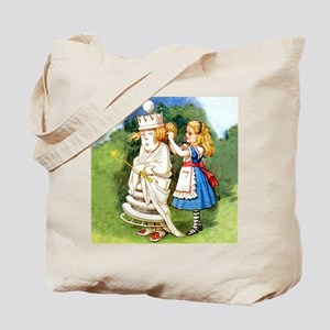 Alice and The White Queen Tote Bag