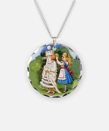 Alice and The White Queen Necklace