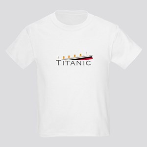 Sinking Titanic Kids Light T-Shirt