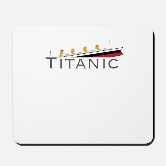 Sinking Titanic Mousepad