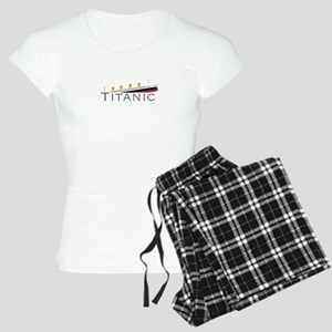 Sinking Titanic Women's Light Pajamas