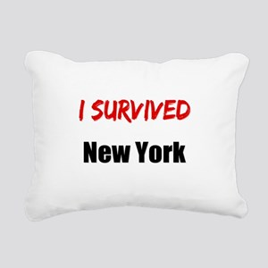I survived NEW YORK Rectangular Canvas Pillow