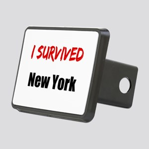 I survived NEW YORK Rectangular Hitch Cover