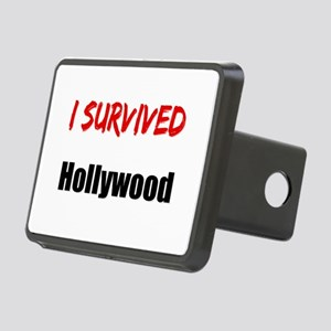 I survived HOLLYWOOD Rectangular Hitch Cover