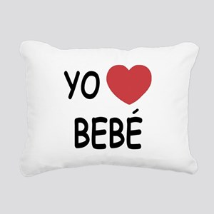 bebe Rectangular Canvas Pillow