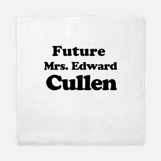 Future Mrs. Edward Cullen Queen Duvet