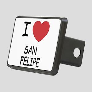 SAN_FELIPE Rectangular Hitch Cover