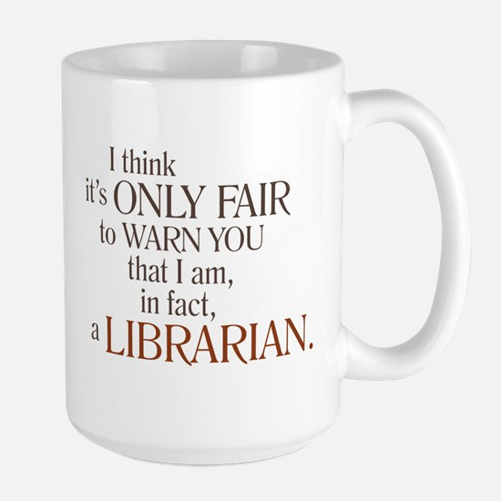Librarian Warning Mugs