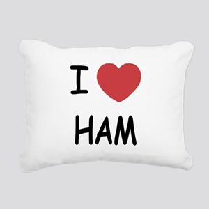 HAM222 Rectangular Canvas Pillow