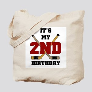Hockey 2nd Birthday Tote Bag
