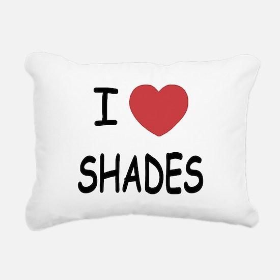 SHADES.png Rectangular Canvas Pillow