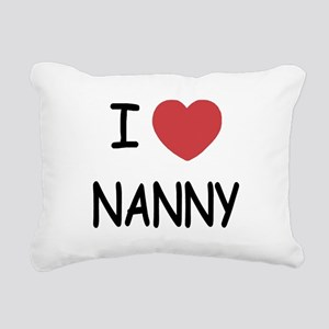 NANNY Rectangular Canvas Pillow