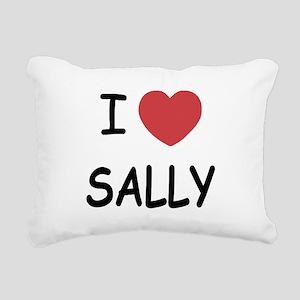 SALLY Rectangular Canvas Pillow