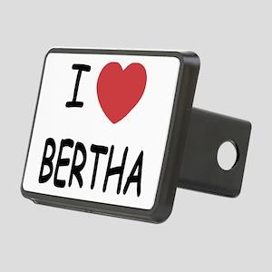 I heart Bertha Rectangular Hitch Cover