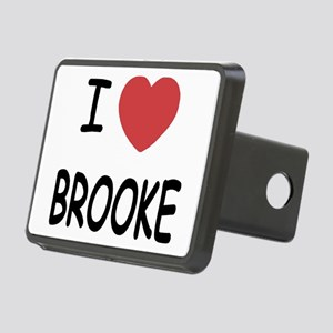 I heart Brooke Rectangular Hitch Cover