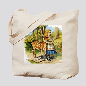 Alice and the Doe Tote Bag